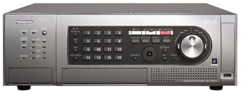 Panasonic WJ-HD616 Series Surveillance DVR