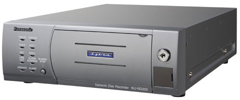Panasonic WJ-ND200 Series Network/IP Video Recorder