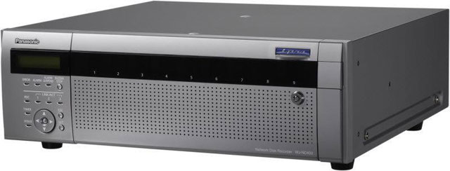 Panasonic WJ-ND400 Series Network/IP Video Recorder