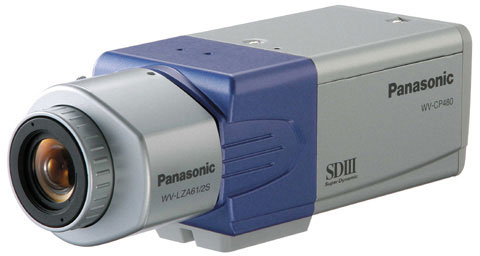 Panasonic WV-CP480 Surveillance Camera