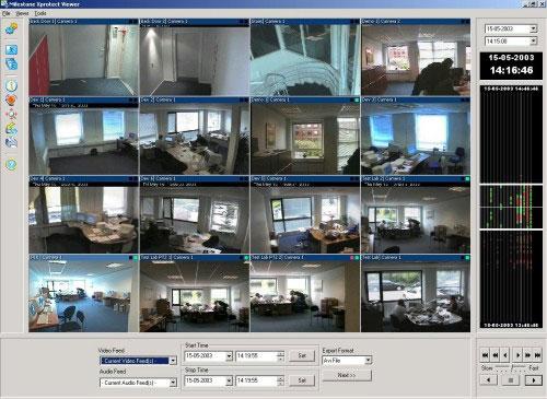 Panasonic Xprotect Professional Surveillance Camera