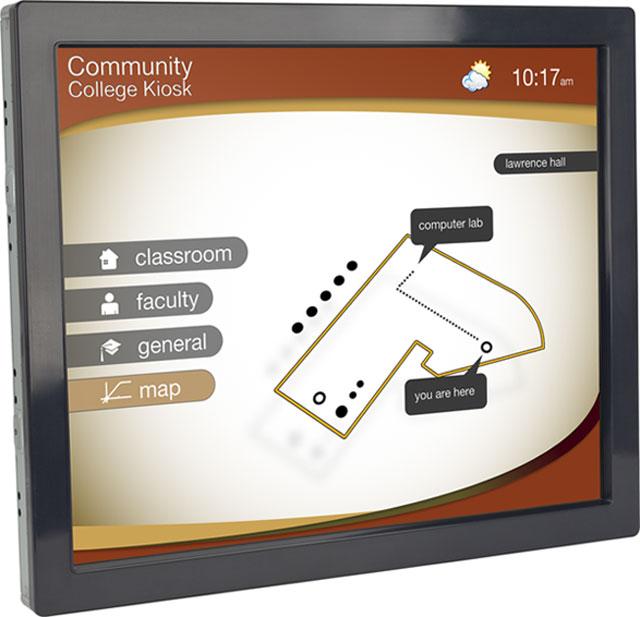 Planar LA1950RTS Touchscreen