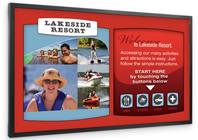 Planar PS Series Digital Signage Display