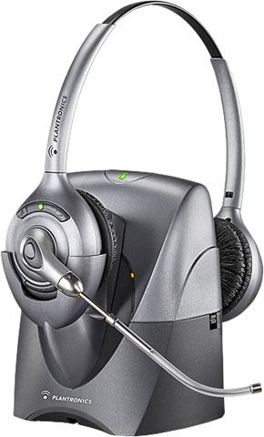 Plantronics CS361 SupraPlus Wireless Professional Headset System Voice Tube with Lifter