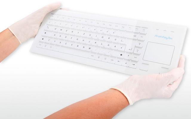 Preh KeyTec HospiTouch Alphanumeric Keyboard