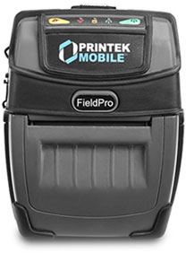 Printek FieldPro 530 Bluetooth without Battery Barcode Label Printer: 93183