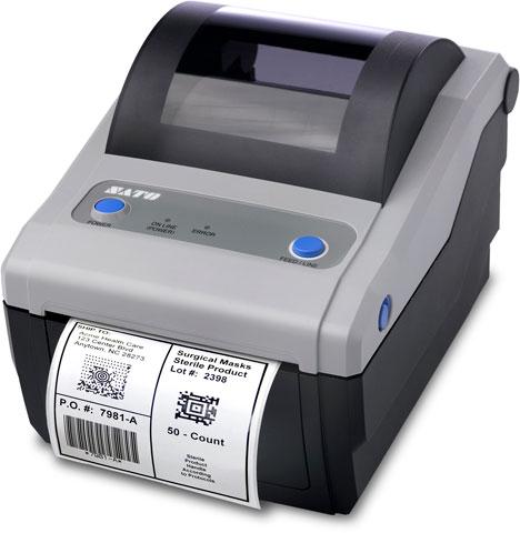 SATO CG412 Printer