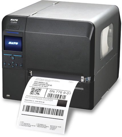 SATO CL612NX Barcode Label Printer: WWCL91061