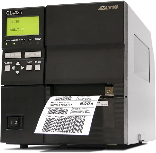 SATO GL408e Printer