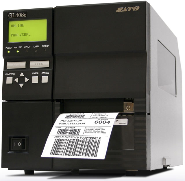 SATO GL4e Series Barcode Printer