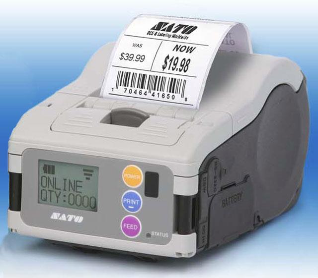 SATO MB200i Portable Printer