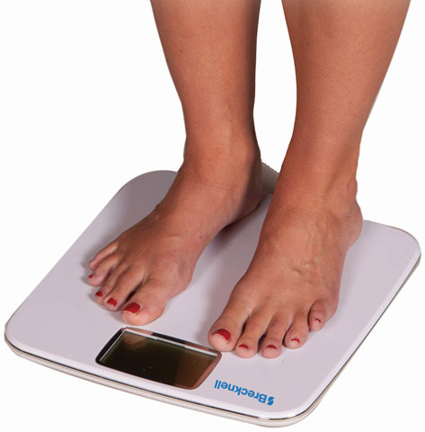 Brecknell BS-180 Bathroom Scale Scale