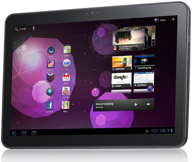Samsung Galaxy Tab 10.1 Tablet Computer