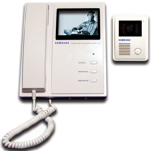 Samsung Sdv 410y Video Intercom Best Price Available