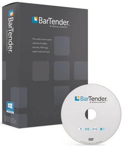 Seagull Scientific BarTender Enterprise Automation 10.1 RFID Software: BT-EA3-RFID