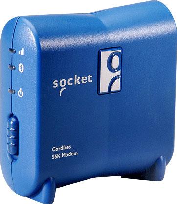 Socket Cordless 56K Modem V.92 Mobile Computer