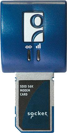 Socket SDIO 56K Modem Card V.92 Mobile Computer