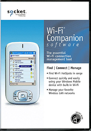 Socket WiFi Companion Software Mobile Computer
