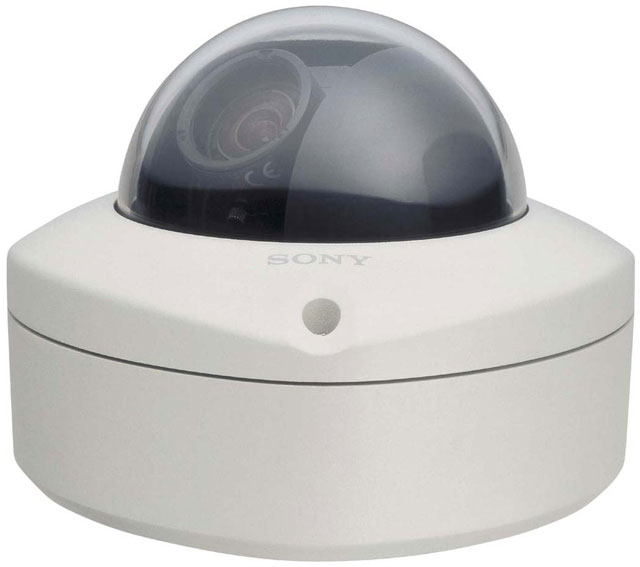 Sony SSC-CD73V Color Minidome Surveillance Camera