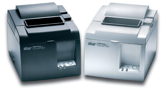 Star TSP100LAN futurePRNT Receipt Printer