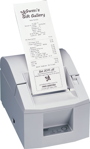 Star TSP600 Printer
