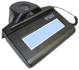 Topaz IDLite LCD 1x5 Optical Signature Capture Pad