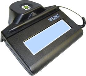 Topaz IDLite LCD 1x5 RF Signature Capture Pad