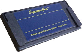 Topaz KioskGem Signature Capture Pad