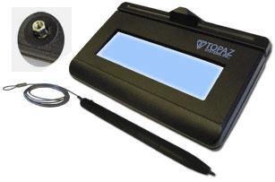 Topaz KioskGem LCD 1x5 Signature Capture Pad