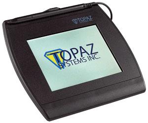 Topaz SignatureGem Color 5.7 Signature Capture Pad