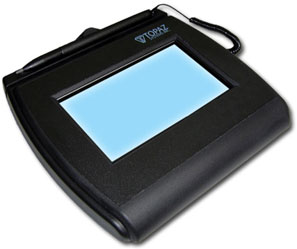 Topaz SignatureGem LCD 4x3 Signature Capture Pad