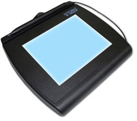 Topaz SignatureGem 4x5 LCD Signature Capture Pad