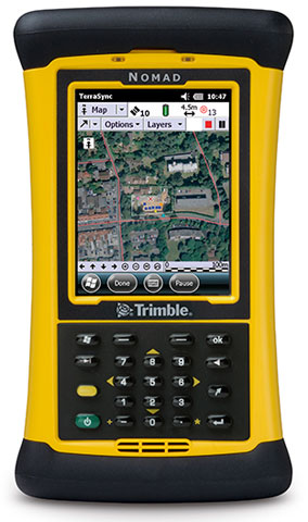Trimble Nomad 1050 Mobile Computer