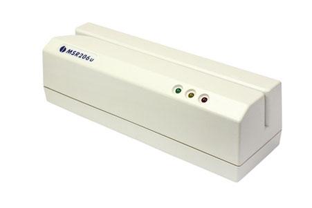 UIC MSR206 Card Reader: MSR206U-3HLR
