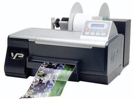 VIPColor VP485 Barcode Label Printer