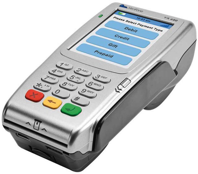 verifone vx 680 payment terminal   research buy call for