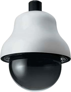Videotec Dome Enclosure Surveillance Camera Housing