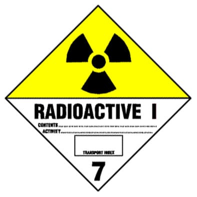 Warning Radioactive Label Best Price Available Online