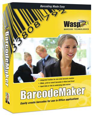 Wasp BarcodeMaker Barcode Software