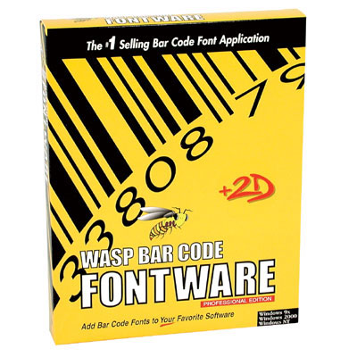 Wasp Bar Code FontWare Barcode Software - Best Price Available