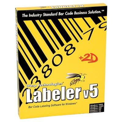 Wasp Bar Code Labeler Barcode Software
