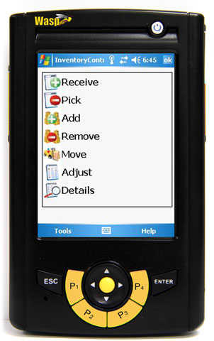 Wasp WPA1000II Mobile Computer