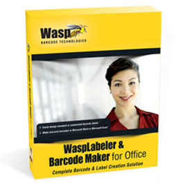 Wasp WaspLabeler +2D Barcode Label Software: 633808105358