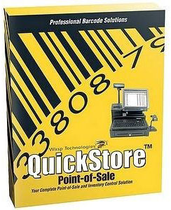 Wasp QuickStore License Barcode Label Software: 633808471101