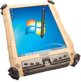 Xplore iX104C5 DMSR-M (Dual-Mode Sunlight-Readable for Military) Tablet Computer