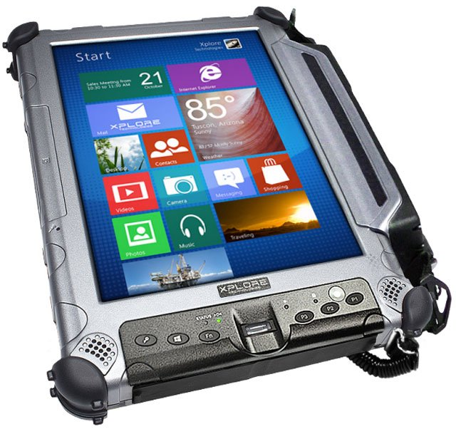 Xplore XC6 M2 Tablet Computer