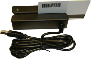 ZBA Universal Magnetic Swipe Reader Card Reader