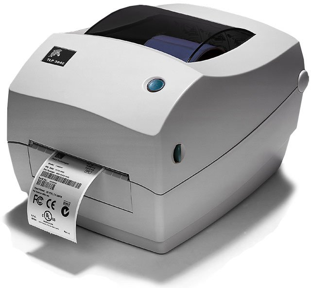 ... Printer › Thermal Transfer Barcode Printer › Zebra TLP 3842
