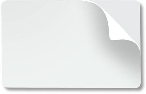 Zebra PVC Card Plastic ID Card: 104523-010