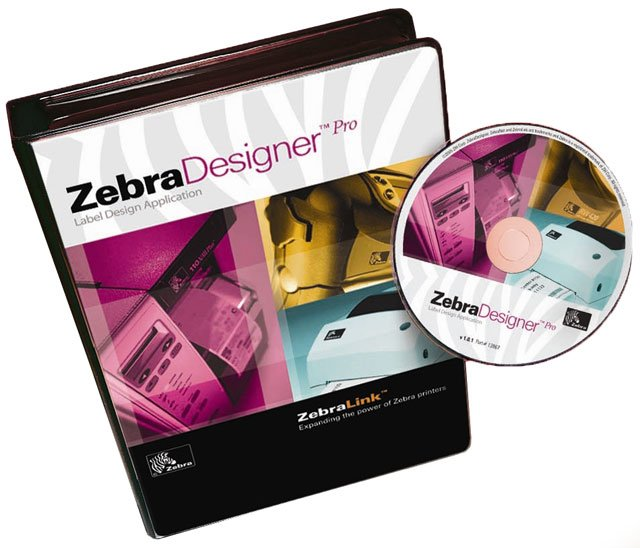 Zebra ZebraDesigner Pro Software Barcode Label Software: 13833-002